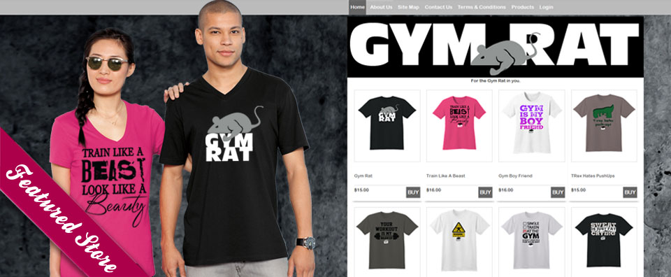 Gym Rat Featured Store