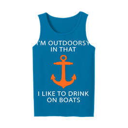 General Adult Tank Top Im Outdoorsy