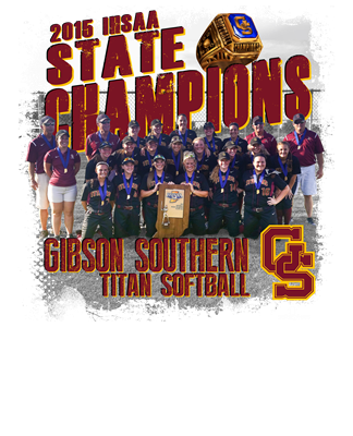 2015 Softball State Champs Team Pic
