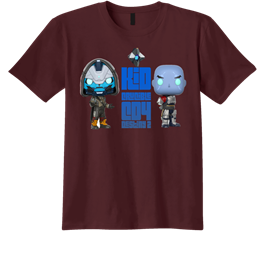 KID CRUCIBLE Cayde 6 and Zavala, Destiny 2 gaming shirt by AGS Custom Tee's