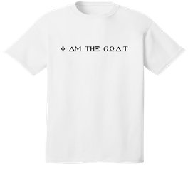 I am the goat (the greatest of all time)