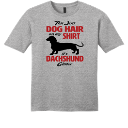 Dachshund Dog Hair Glitter