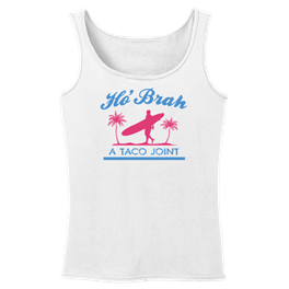 HoBrah Surfer Palm Womans Tank