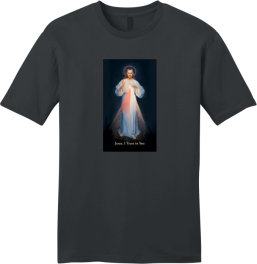 "Saint Faustina image ""Jesus I Trust In You."""