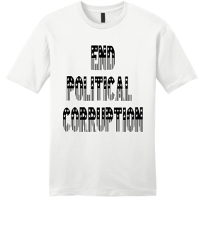 End Political Corruption Front and Back