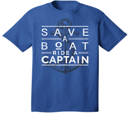 Save A Boat Ride A Captain