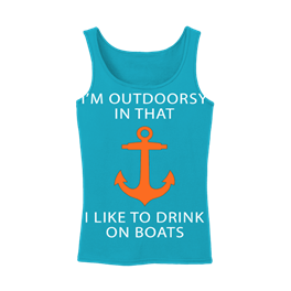 Womens Tank Top Im Outdoorsy