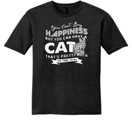 Happiness Is Having A Cat