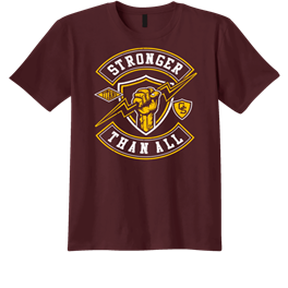 Stronger Than All GS Retro Logo