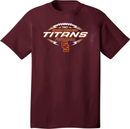 2020 TNT Titan Football  -  Dark Shirts