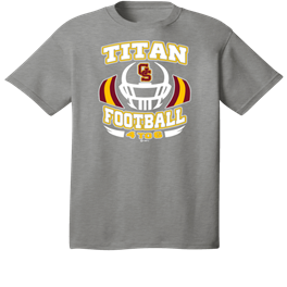 Titan Football 2019 Grey