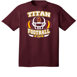 Titan Football 2019 Maroon
