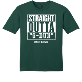 GEORGE WASHINGTON HIGH SCHOOL PATRIOTS ALUMNI SHIRT/GREEN