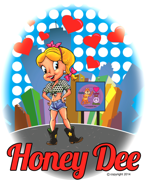 GOTHAM CITY DESIGN HONEY DEE