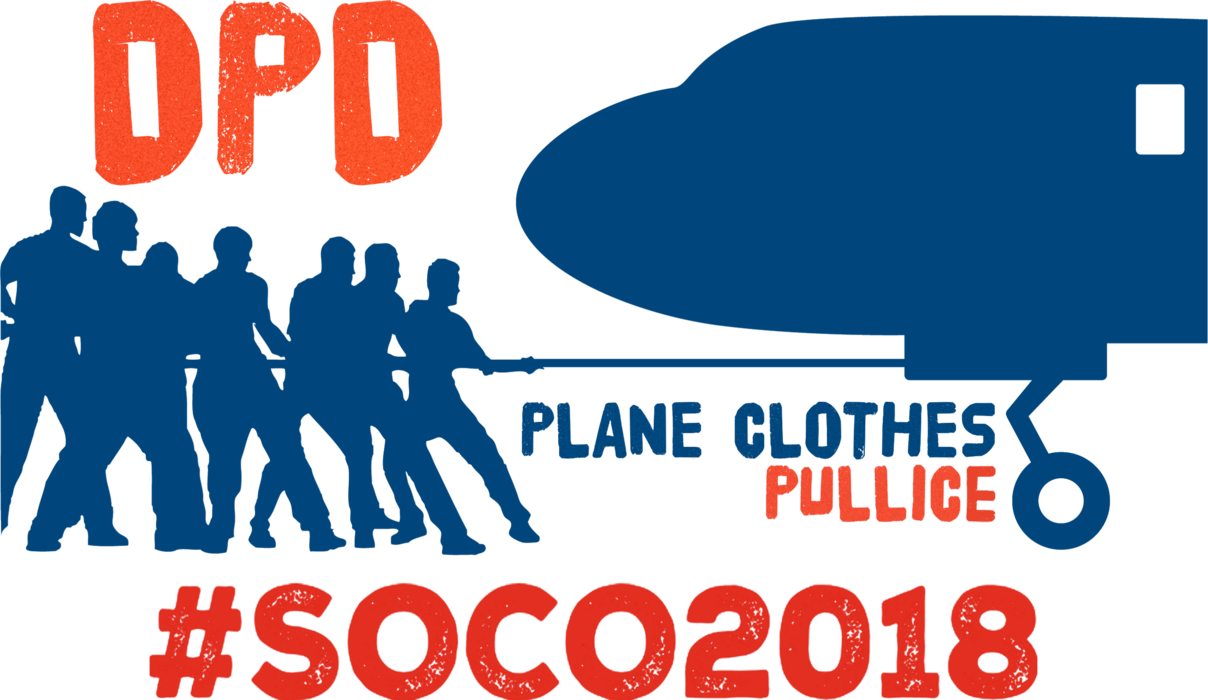2018 DPD Plane CLOTHES PULLICE Custom T-Shirt, #SOCO2018