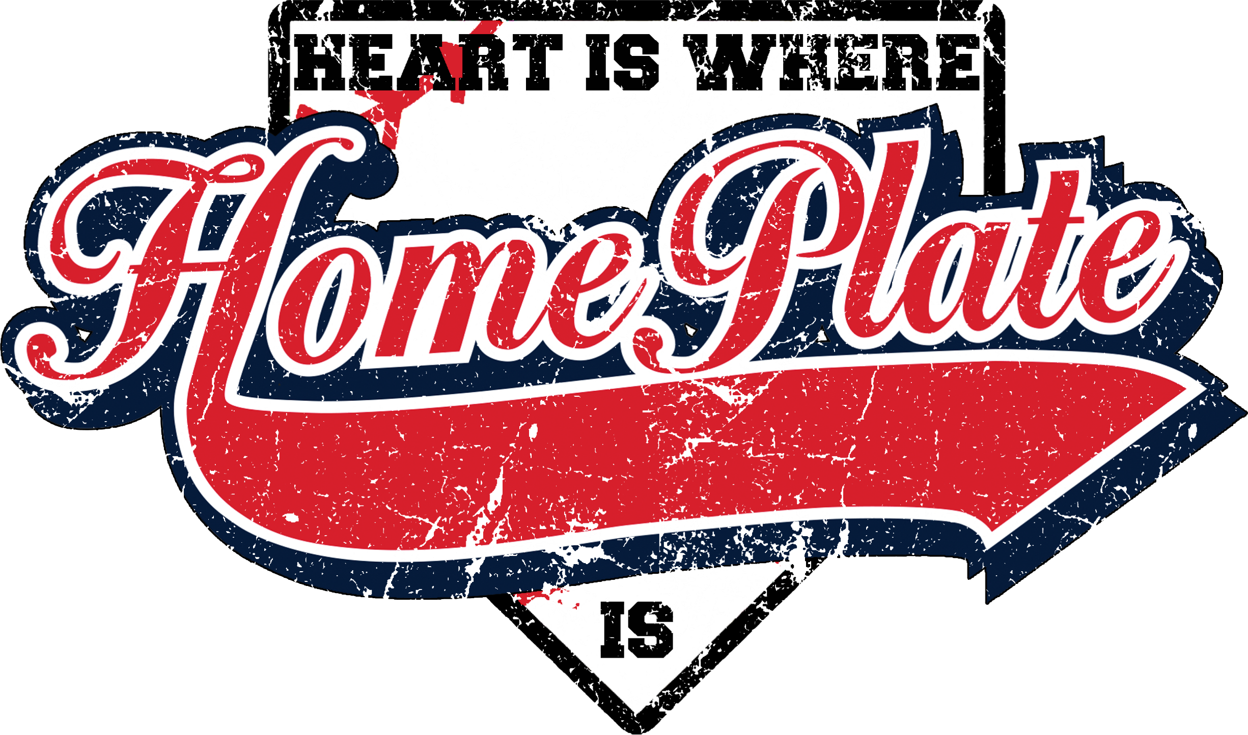 Heart Is Where Otters Home Plate Is