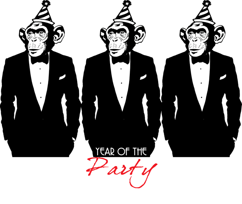 Year of the Party Monkey