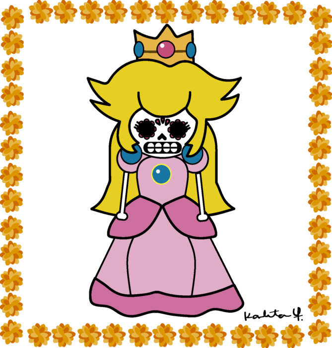 princess peach of the dead