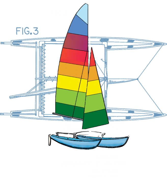 Hobie Cat (front only)