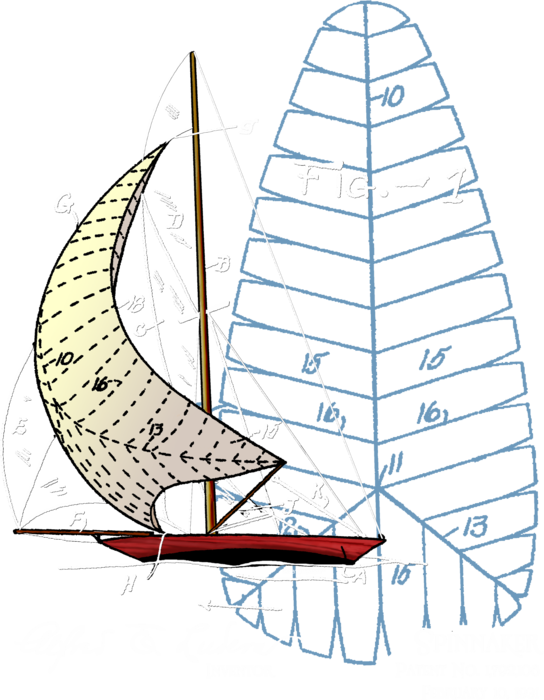 Spinnaker (front only)