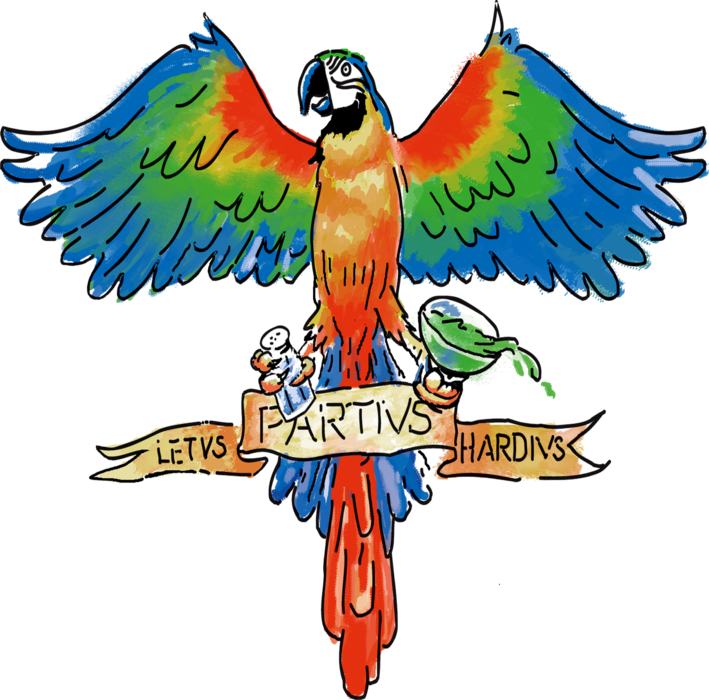 Party Hard Parrot
