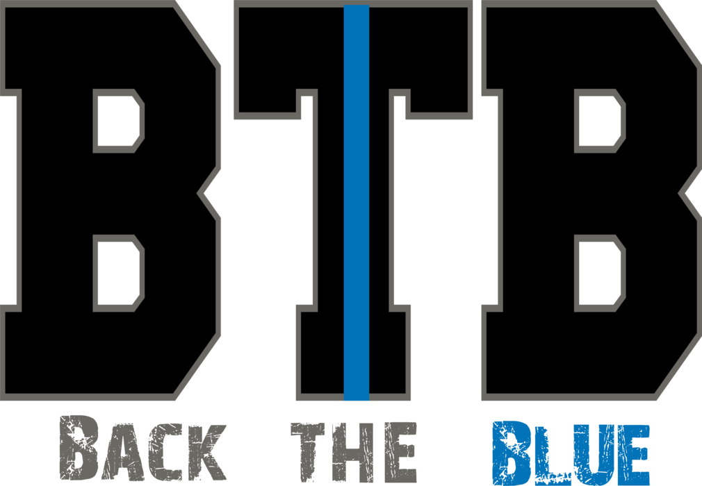 BTB - Back the Blue Custom T-shirt