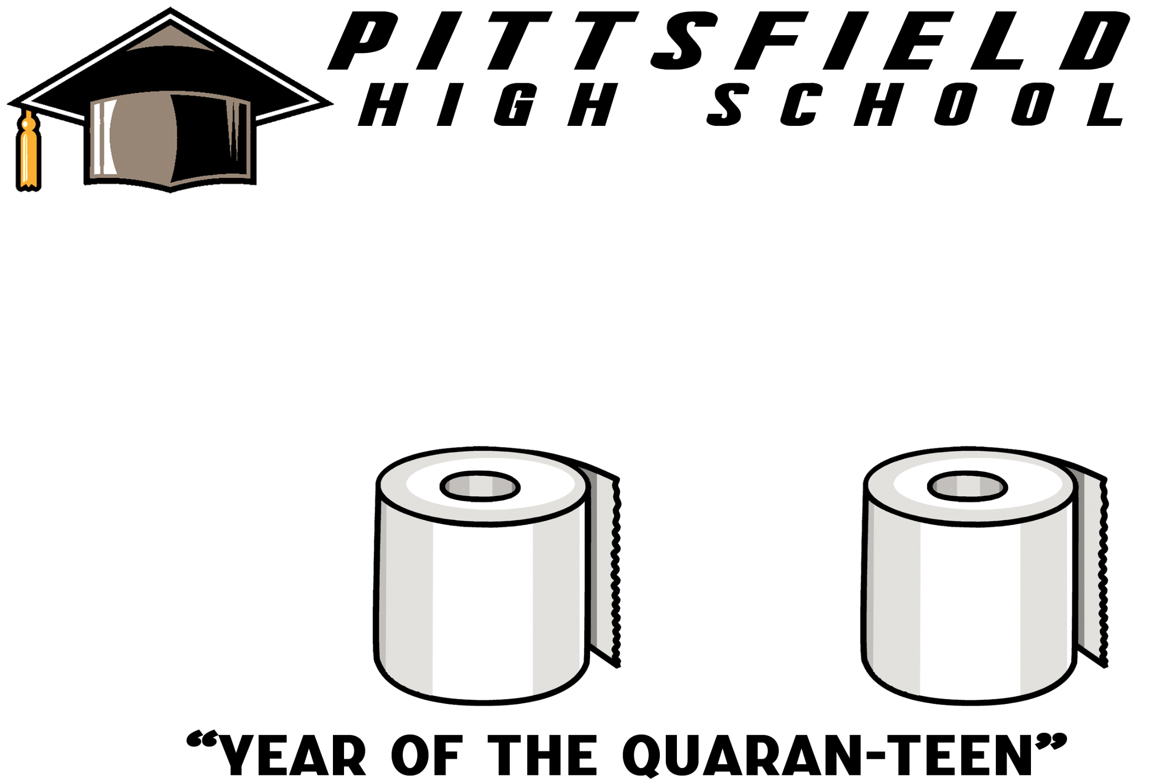 Pittsfield HS Quaran_TEEN Senior 2020 BackMascot