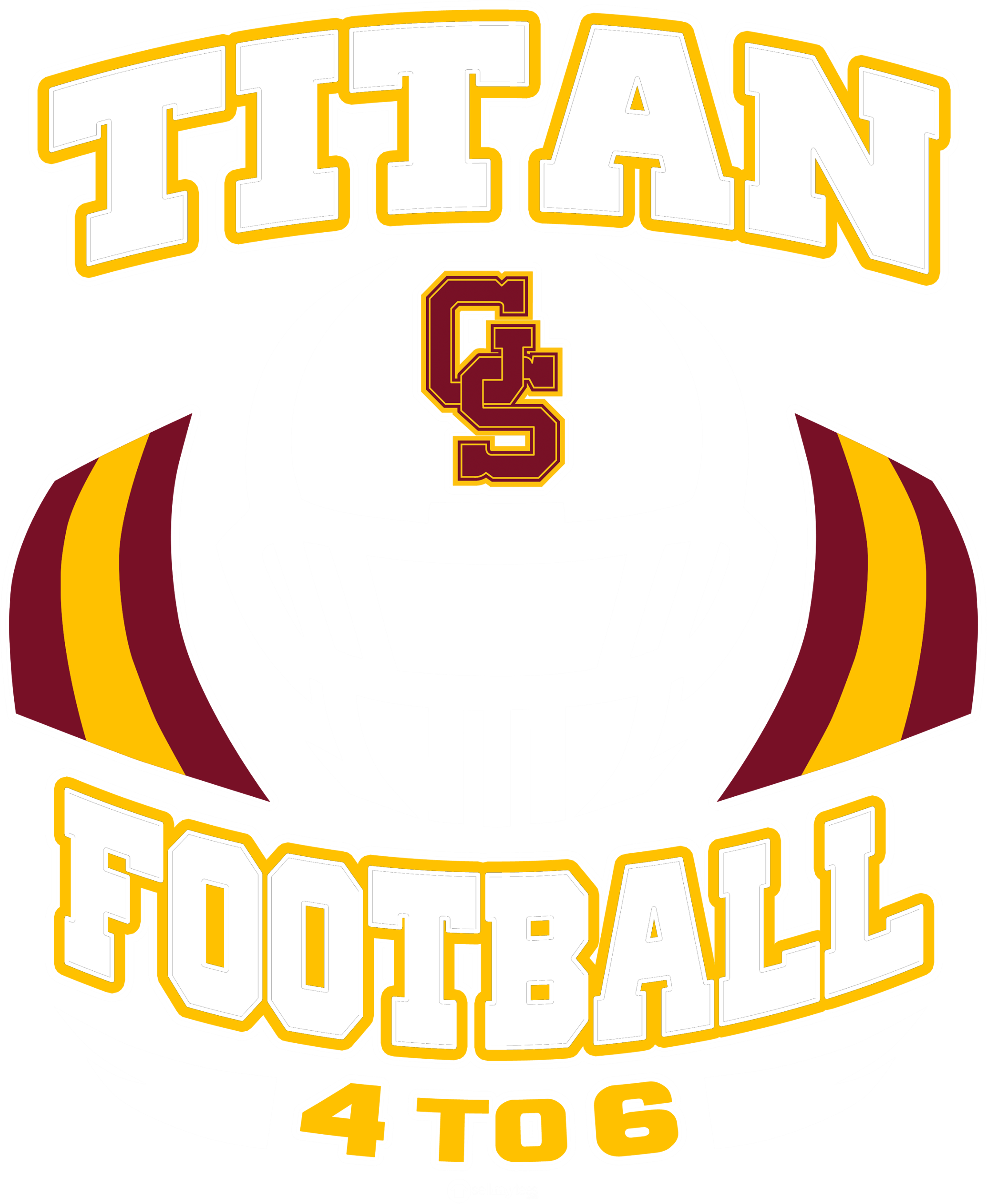 Titan Football 2019 Dark Heather