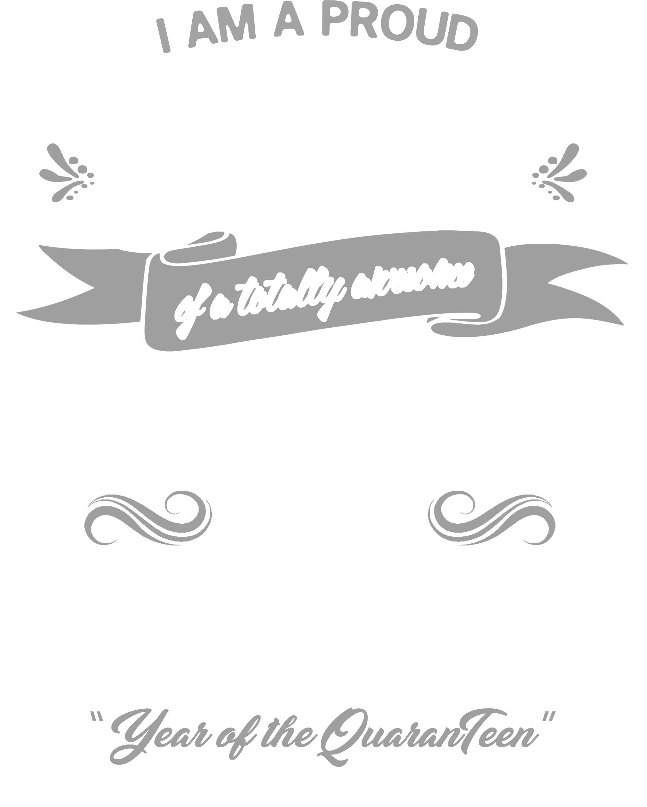 Proud Brother of Awesome Senior 2020 Grey_White