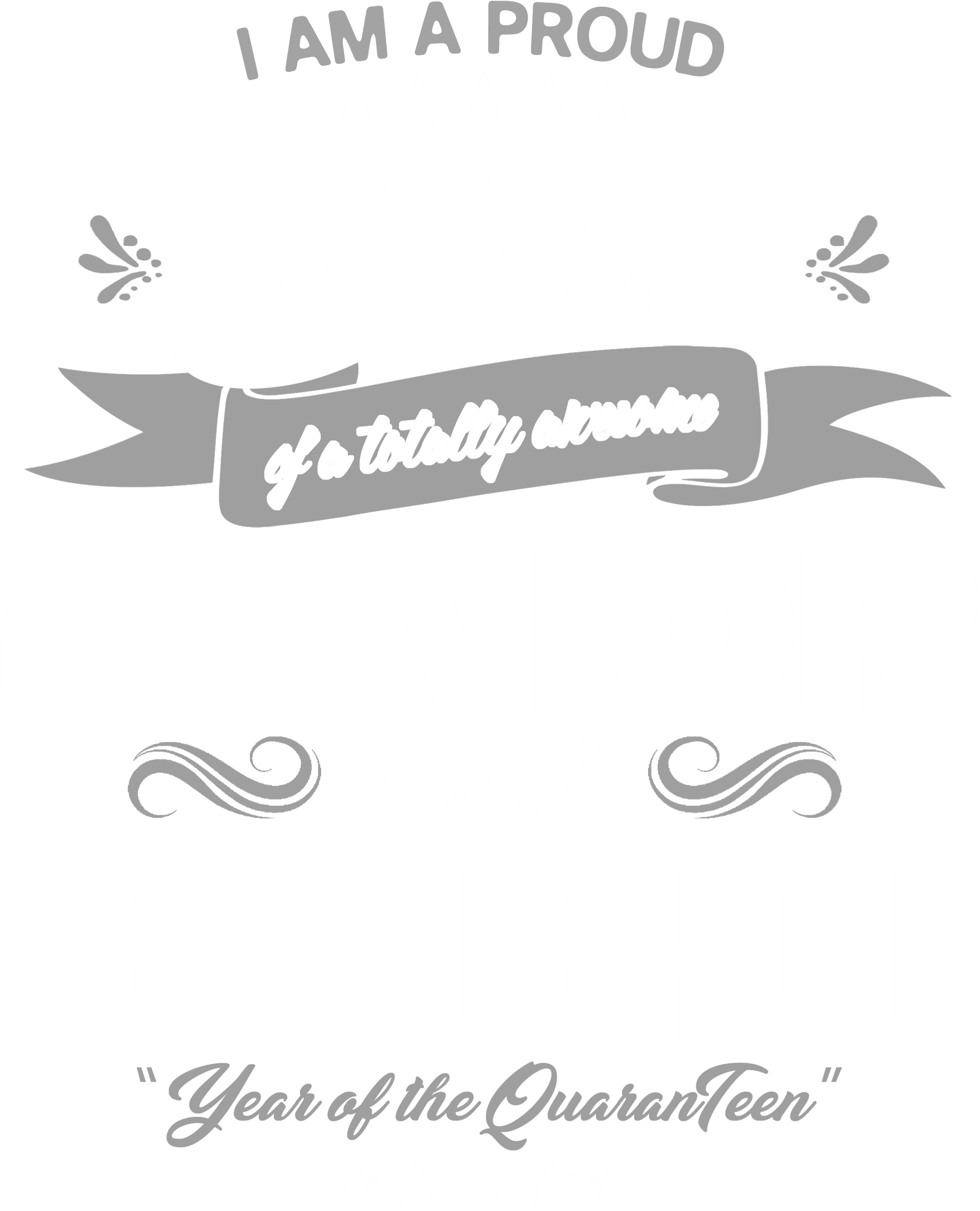 Proud Dad of Awesome Senior 2020 Grey_White