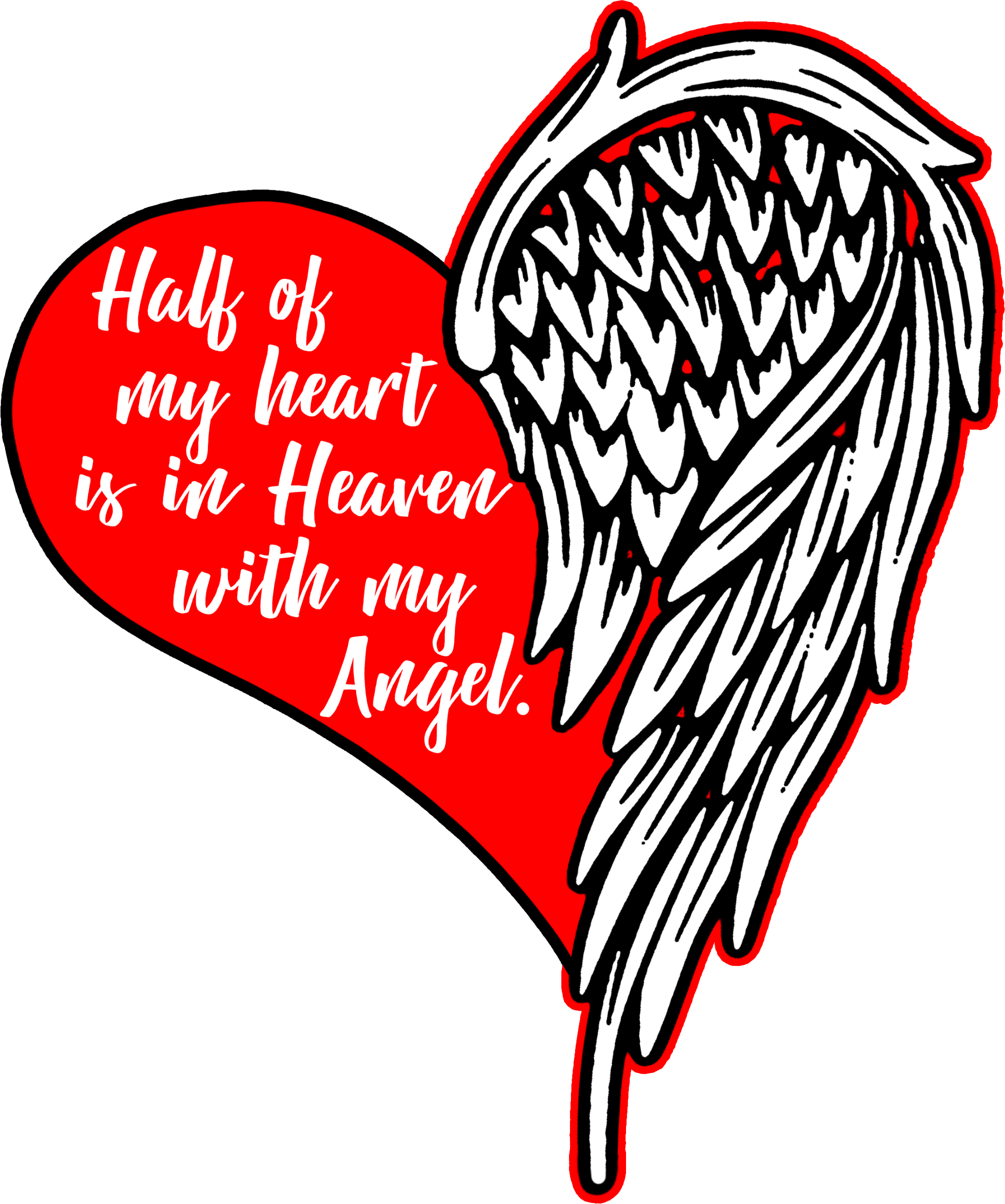Half Heart In Heaven Name Drop