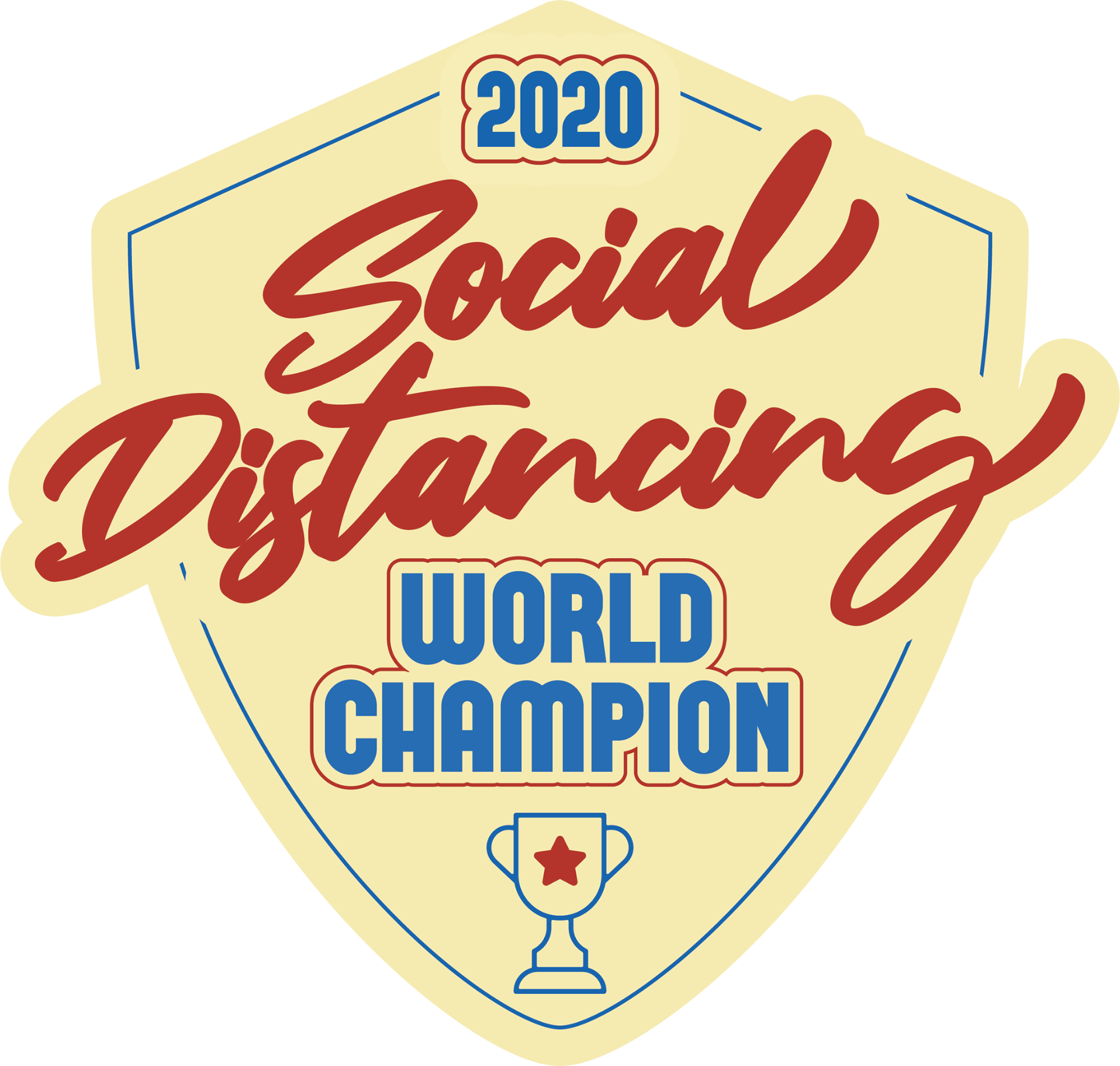 Social Distancing World Champ