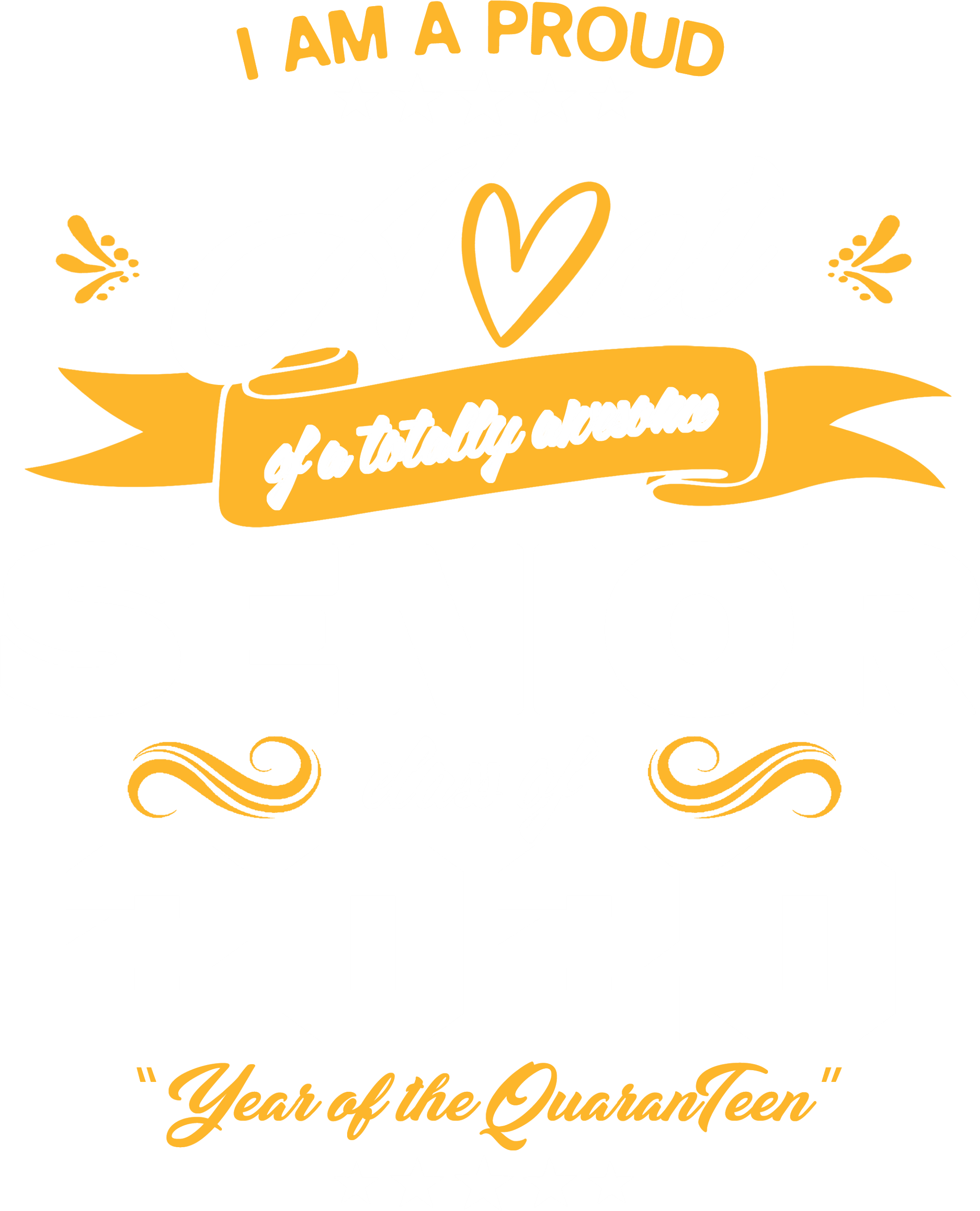 Proud Aunt of Awesome Senior 2020 MrnGld